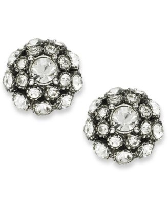 kate spade new york Earrings, Antique Silver