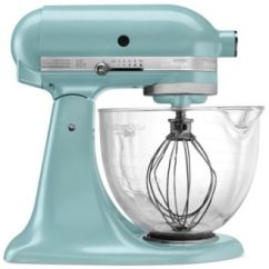 Kitchen Aid Glass Bowl Hanging Light Kitchenaid Artisan Design Series 5 Quart Tilt Head Stand Mixer With