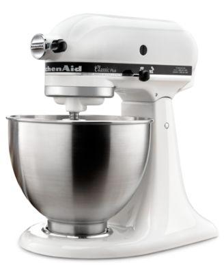 kitchen aid classic plus pos display system kitchenaid ksm75 4 5 qt stand mixer small appliances main image