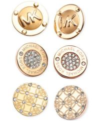 Michael Kors Stud Earrings - Jewelry & Watches - Macy's