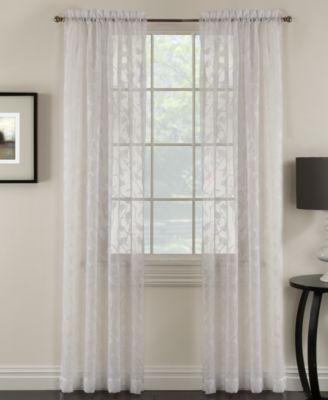 Miller Curtains Chickadee 48 x 84 Sheer Curtain Panel