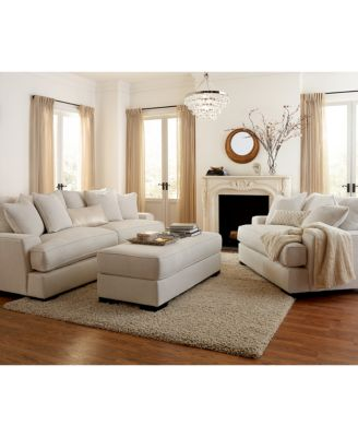 Ainsley Fabric Sofa Living Room Collection Created for