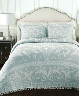 lamont gabriella blue bedspread