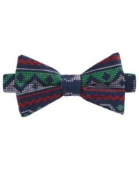Celebrate Shop Men's Fair Isle Reindeer Bow Tie, Only at ...