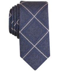 Bar III Men's Faylen Grid Slim Tie, Only at Macy's - Ties ...