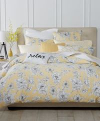 Charter Club Damask Designs Butter Floral Bedding ...