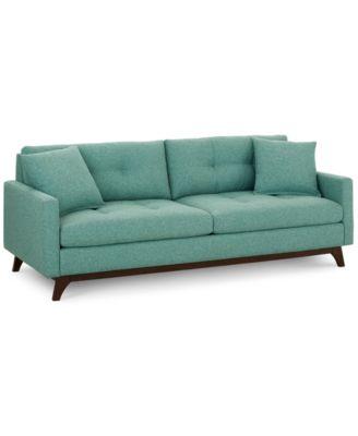 sofas at macys sofa covers online dubai furniture nari 83 fabric tufted created for macy s