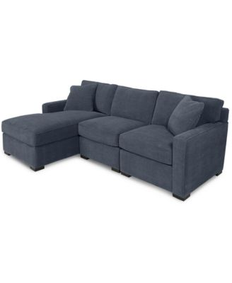 macy s sectional sofa harper fabric 6 piece modular furniture radley 3 chaise custom colors created for
