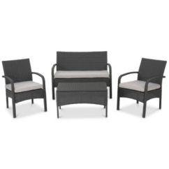 Bistro Tables And Chairs Chair Rentals Columbia Sc Table Macy S Benjamin 4 Pc Chat Set Quick Ship