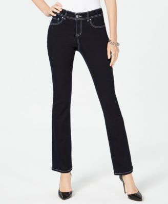 contrast stitch skinny jeans created for macy   also womens inc international concepts clothing rh macys
