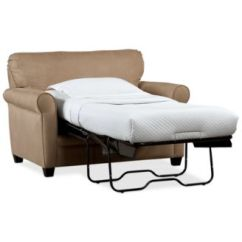 Chair Beds For Adults Recliner Rocking Furniture Closeout Kaleigh 55 Fabric Single Sleeper Bed