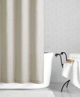 """Hotel Collection Linen 72"""" X 84"""" Extra Long Shower Curtain Only"""