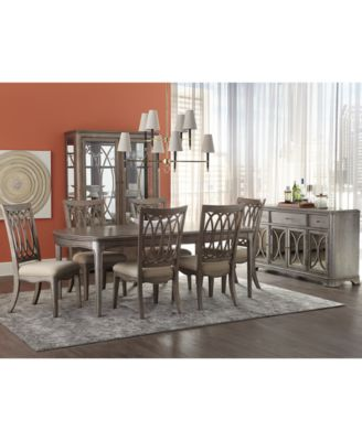 2 chair dining set front porch rocking chairs furniture kelly ripa home hayley 9 pc table 6 side