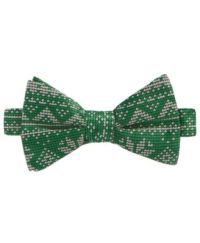 Whimsical Shop Men's Fair Isle Snowflake Bow Tie, Only at ...