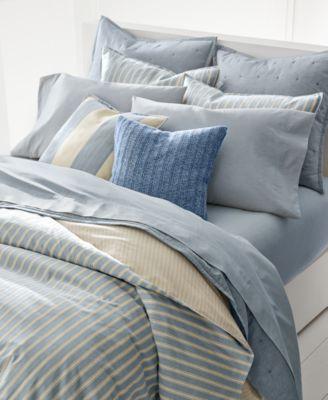 martha stewart kitchen towels ceiling paint lauren ralph graydon bold stripe duvet covers ...