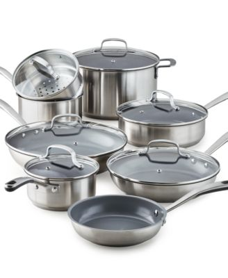 macy's kitchen sets refurbished cabinets martha stewart collection 14 pc cookware set created for macy s