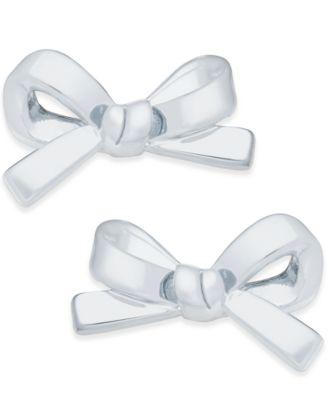kate spade new york Bow Stud Earrings
