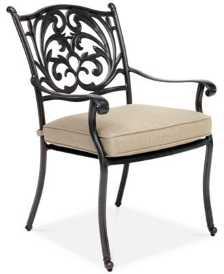 outdoor aluminum chairs buy computer chair furniture chateau 11 pc dining set 84 x 60