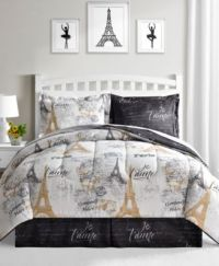 Fairfield Square Collection Paris Gold 8-Pc. Reversible ...