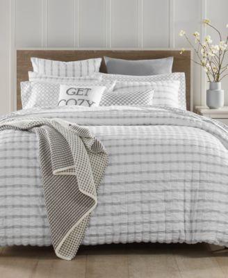 charter club damask designs seersucker comforter sets created for macy s