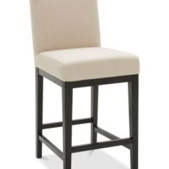 Macy Stool Chair Grey Black Spandex Covers Wholesale Furniture Tate Fabric Parsons Counter S Main Image