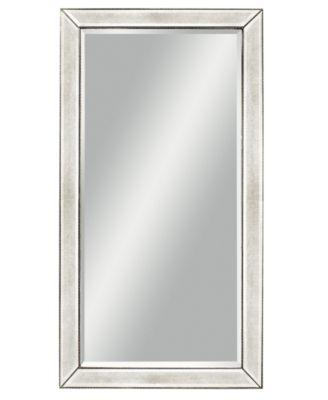 Marais Mirrored Floor Mirror  Furniture  Macys