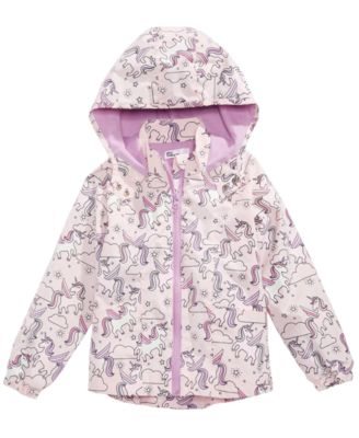 Epic threads little girls color changing unicorn print rain jacket created for macy   also kids clothing rh macys