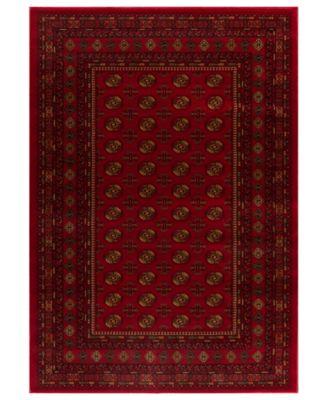Kenneth Mink CLOSEOUT Rugs Warwick Boukara Crimson  Rugs  Macys