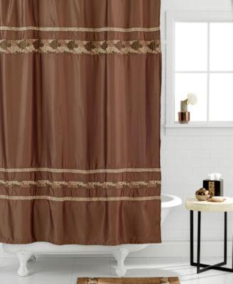 Croscill Bath Mosaic Shower Curtain  Bathroom Accessories  Bed  Bath  Macys