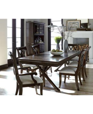 Baker Street Dining Furniture Collection Furniture Macys