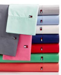 Tommy Hilfiger Solid Core Sheet Sets - Sheets ...