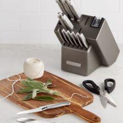 Macys Kitchen Aid Commercial Tile Kitchenaid Kkfss16cs Architect Series 16 Pc Stainless Steel Cutlery Main Image
