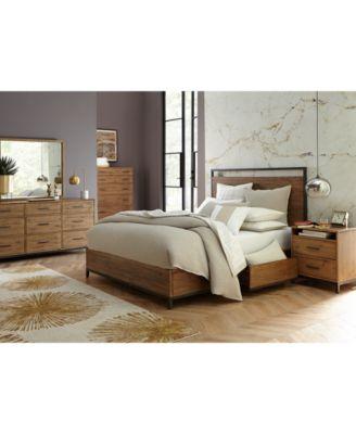 Furniture Gatlin Storage King Platform Bed Created for