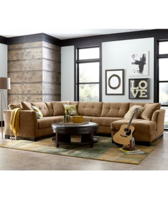 elliot fabric sectional living room furniture collection best decor 2018 closeout created for colors in this