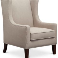 Bedroom Chair With Skirt Revolving Supplier Chairs Macy S Sloane Fabric Accent Quick Ship