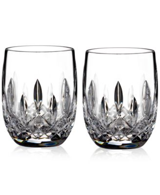Waterford Lismore Rounded 7 Oz Tumbler Pair Bar Amp Wine Accessories Dining Amp Entertaining