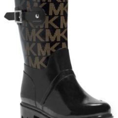 Macy's Kitchen Sets Fifth Wheel With Outdoor Michael Kors Logo Mid Rainboots - Boots Shoes ...
