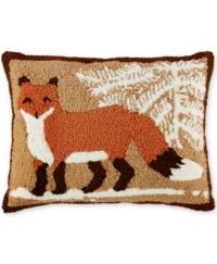Martha Stewart Collection Fox Decorative Pillow, Only at ...