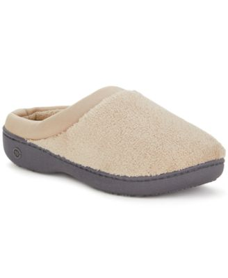 Main image also isotoner signature microterry pillowstep slipper with satin trim rh macys