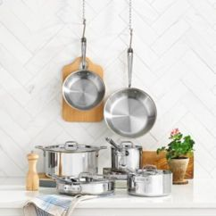 Macy's Kitchen Sets Sinks Stainless Steel All Clad 10 Pc Cookware Set Main Image
