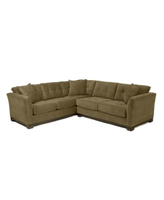 macy s elliot sofa leather sofas set fabric microfiber 2-piece sectional ...