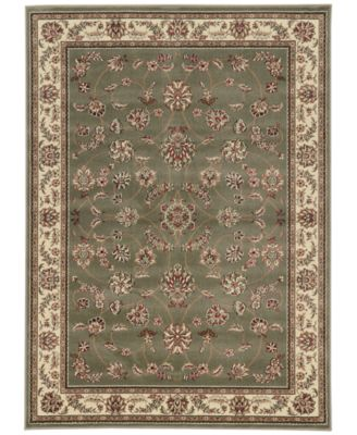 KM Home CLOSEOUT Pesaro Isfahan Sage Area Rug Collection  Reviews  Rugs  Macys