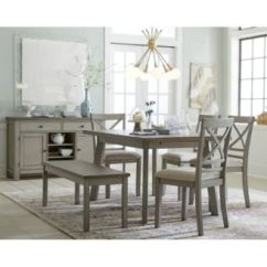 Macy's Kitchen Sets Bathroom And Resurfacing Furniture Fairhaven Dining 6 Pc Set Table 4 1 344 00