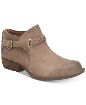 Born Sylvia Booties Boots Shoes Macys