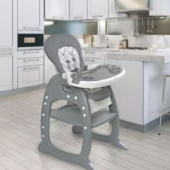 Badger Basket High Chair Lacquer Dining Chairs Envee Ii Baby With Playtable Conversion 165 99