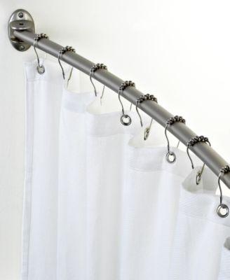 Charter Club Curved Shower Curtain Rod  Bathroom