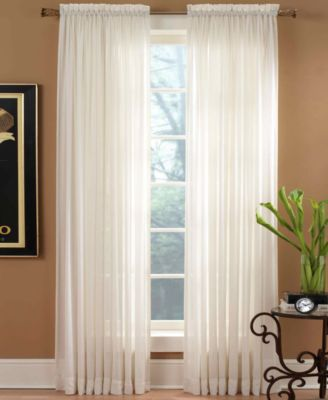 Miller Curtains Sheer Preston Rod Pocket 51 x 108 Panel