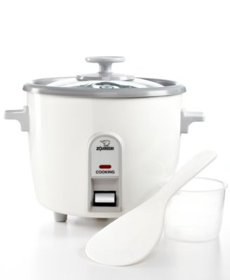 steamer kitchen value city furniture sets zojirushi nhs 06 rice cooker 3 cup small appliances main image