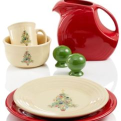 Calphalon Kitchen Essentials High Quality Cabinets Fiesta Christmas Tree Collection - Dinnerware Dining ...