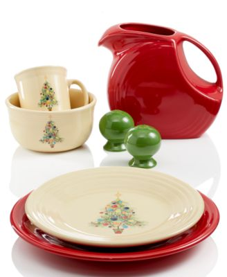 calphalon kitchen outlet oak cabinets fiesta christmas tree collection - dinnerware dining ...